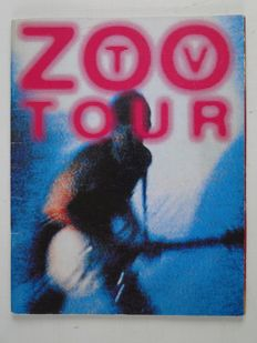 U2 - 2 tourbooks and the official book of the U2 movie - 1988/1992