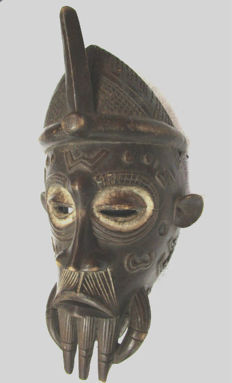 Very old CHOKWE Mask - Congo
