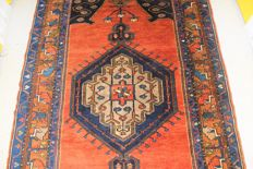 Old Turkish carpet - early 20th century - 215 x 115 cm.