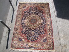Large antique Oriental carpet, Transylvania, handmade, 222 x 325 cm