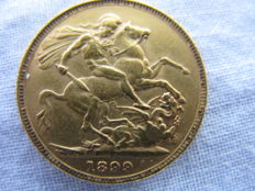 Great Britain – Sovereign 1899 – Victoria – Gold