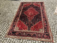 Old PERSIAN Hamadan RUG Hand knotted 265x160 cm
