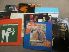 JAZZ  - Gerry Mulligan -  lot of ten (10)  very nice LP's from the sixties and seventies