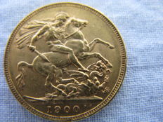 Great Britain – Sovereign 1900 – Victoria – Gold