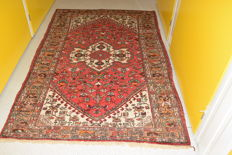 Persian rug, Hamadan - 200 x 135 cm - with certificate of authenticity