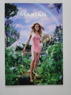 Mariah - Tourbook of Mariah's Rainbow Tour and a phonecard - Limited edition