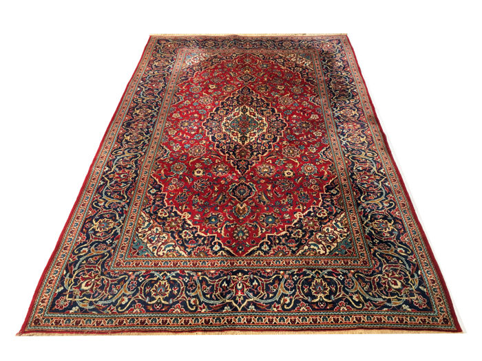 Wonderful Persian carpet: Kashan – IRAN 310 x 197 cm – Iran – circa 1970