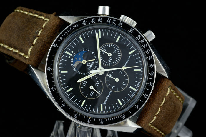 d70871c29b3 Omega — Speedmaster Professional Moonwatch Moonphase — Ref 3576.50.00 — Men  — 2000-