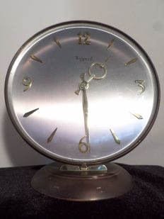 Bayard 8 day vintage table clock France