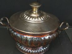 Great silver tureen