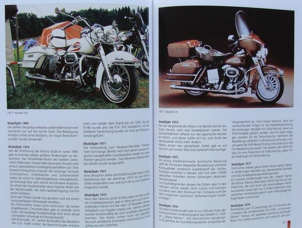 4 Books on Harley-Davidson - Catawiki