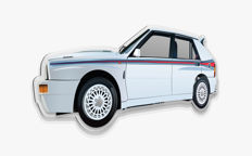 Halmo Collection Lancia Delta Martini 5 plexiglass model
