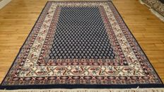 Magnificent Indo-Persian Mir carpet, handwoven – 210 x 145 cm – IN PERFECT CONDITION.
