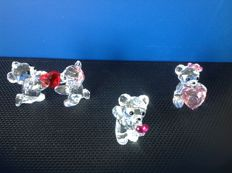 Swarovski - Kris bear (3) - Hand Kiss - Just for You - My Heart is Yours.