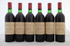 1969 Chateau de Sales, Pomerol, France, 6 Bottles.