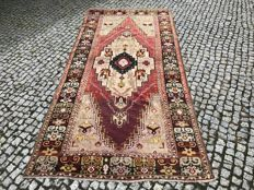 OLD Anatolian RUG Hand knotted 280x135 cm