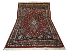 Beautiful hand knotted rug India excellent condition certificate 290x200 cm