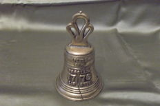 Dinner bell/Independence Bell 1776 Proclaim Liberty solid brass - 19th century