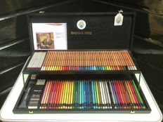 Pim Fortuyn personal colour pencil box marked Bruynzeel