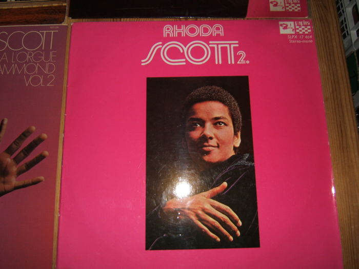 JAZZ Collection of 10 LP Albums by  Rhoda Scott ,The Earl Hines Trio ,Rosa King and More