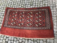 Old Turkmen Tapestry Hand knotted 125x80 cm