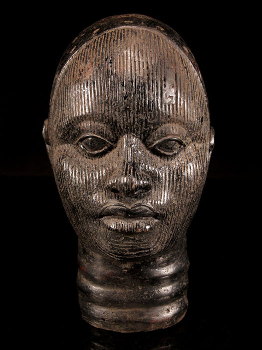 Exquisite IFE Bronze Head  - Nigeria