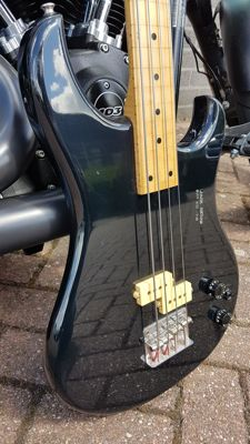Vox Standard Bass guitar in black made in Japan