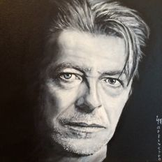 Portrait of David Bowie- 20 th Century -