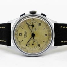 Helvia – Chronographe Suisse – Men's wristwatch