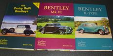 Bentley, Derby, MKVI and R Type; lot of three books