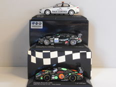 Minichamps - Scale 1/43 - Lot with 3 models: Alfa Romeo 159 Race Control, Aston Martin DBRS9 & Gunnar-Porsche G99