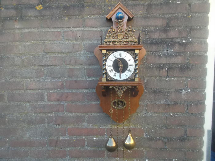 Zaandam clock - 1960 period