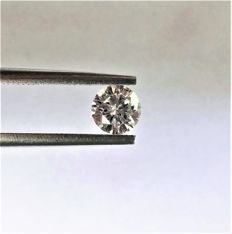 Round Brilliant Cut  - 0.58 carat   -  D color - VS1  clarity - Natural Diamond - Comes With IGL Certificate + Laser Inscription On Girdle