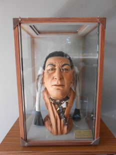 Museum piece: Chief of the Pigan tribe - second half of the 20th century,
