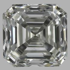 0.70ct  Asscher  Brilliant  H VS1  EGL USA -#1915-original image -10x