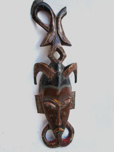 GOURO or GURO Mask - Côte d'Ivoire