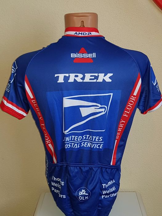 2992583c6 Lance Armstrong - US Postal Jersey - hand-signed + COA. - Catawiki