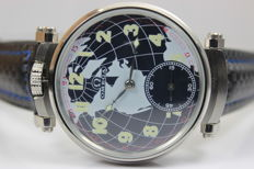 Omega - mariage men's watch - globe - 1929 and 1934