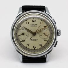 Norexa – Chronographe Suisse – Men's wristwatch – 1955