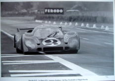 Le Mans 1970 - Porsche 917L #3 - Larousse/Kausen - 2th place (Psychedelic Porsche ) Great Photo Print HV Silk MC 250 g/m2