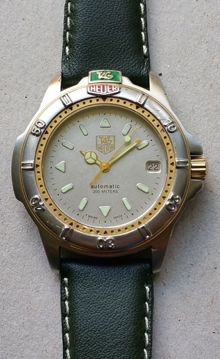 Tag heuer 4000 submariner date diving watch catawiki for Tag heuer divers watch