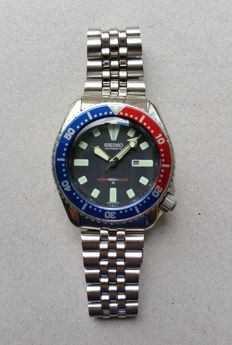 Seiko Pepsi Diver Vintage Submariner - men's - 1990-1999