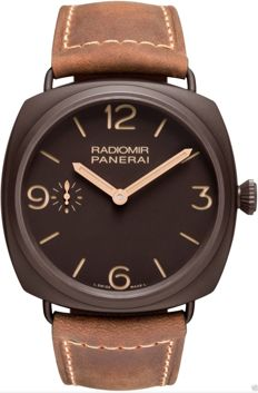 Panerai Radiomir PAM 504  3 days GOLD HANDS (Lim. ed ) Men's Low Reserve Price