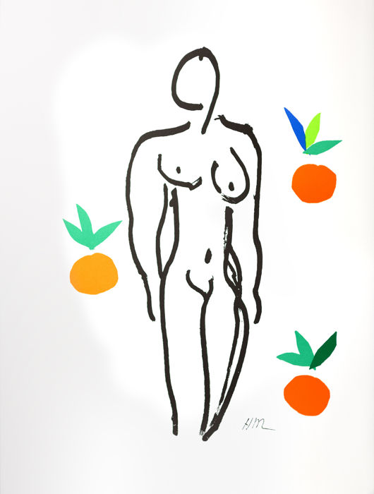 Henri Matisse - Nu aux Oranges (Nude with Oranges)