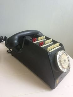 Old Bakelite telephone exchange