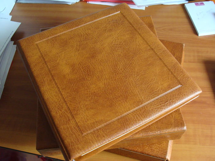 The Netherlands 1852/1976 - Collection in two Safe albums with preprint sheets