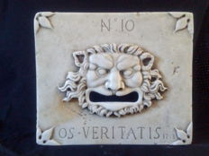 Marble Letter Hole - Italy, Venice - 20th century