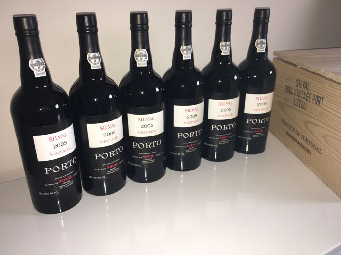 "2005 Vintage Port Noval ""Silval"" - 6 bottles of 0.75l"