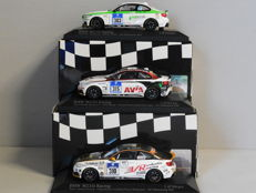 Minichamps - Scale 1/43 - Lot with 3 x BMW M235i Racing 24h Nurburgring 2014