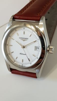 "Longines ""Ovettone"" automatic date"